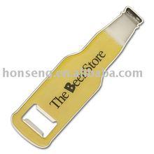 Metal open bottle