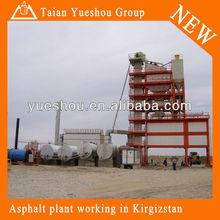 Drum mix asphalt plant LB1200 with capacity 96t/h