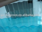Plastic Transparent Corrugated Roof Tile,Polycarbonate Transparent Plastic Roofing Panel,Plastic Corrugated Roofing Sheets