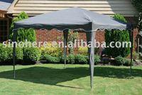 Foldable aluminum gazebo portable shade canopy