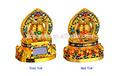 Tibetano de melena/rueda de oración tibetanas/melena el budismo