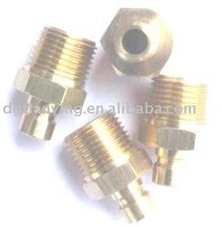 Brass Hose nipple, mold standard component