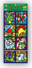 Christmas Transparent PVC Static Window Decoration Sticker