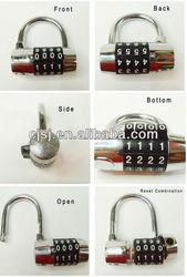 4 digits GYM metal Combination padlock/electronic digital combination lock