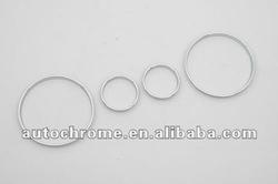 Car Accessory Chrome Gauge Ring for BMW X5 E53
