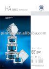 (HA-Series)Plastic Cosmetic Arcylic Jar
