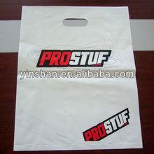 Plastic Die Cut Plastic Handle Shopping Bag