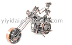 2012 new product antique motorcycle model metal craft motorcycle model