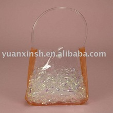 Clear PVC Handle Bags / PVC Pipe Handle Bags