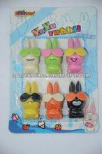 Yo yo rabbit set 3D eraser