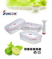 Quadrilateral Vacuumlock Food Container