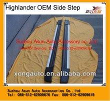 For Highlander 4*4 car body parts side bar OEM style
