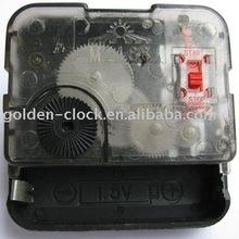 Quartz Clock Movement with Switch, Clock Mechanism