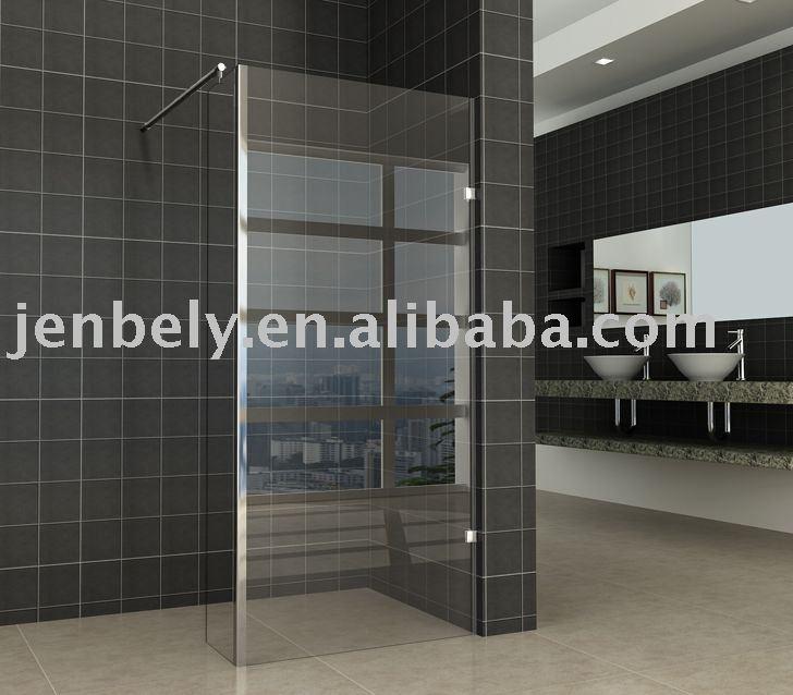 Walk in shower screen