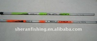 Brand sheran fishing pole MOQ 50pcs fiber glass fishing pole fishing rods available size 4m,5m,6m,7m,8m