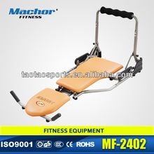 very convenient and functional easy sharper for ab foldable fitness equipment with DVD as seen on TV