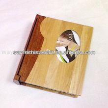 Top quality wooden photo album