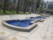 G682 yellow granite for pool coping