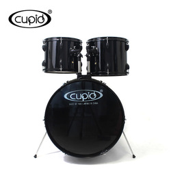 CUPID 5 pcs PVC Black jazz Drum set