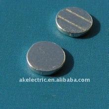 10a AgNi ac cam controller copper contact strip , contact terminal element and brass contact pin
