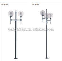 Outdoor lamp post top