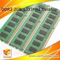 Module de mémoire ram ddr3 bureau. 1333 2g