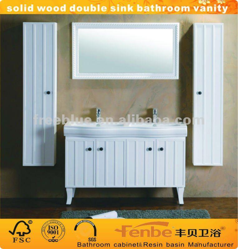 Mobile bagno con doppio lavabo classico [tibonia.net]