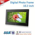 10 inch Digital Photo Frames,super slim ,high-Brightness screen,Movie/Music, calender and alarm,cheap price!