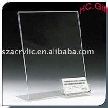 Acrylic A4 pocket advertisement display