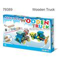 Brinquedo artesanal kit Make sua própria cor o seu caminhão de madeira
