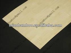 bamboo veneer horizontal natural for longboard deck (P-16)