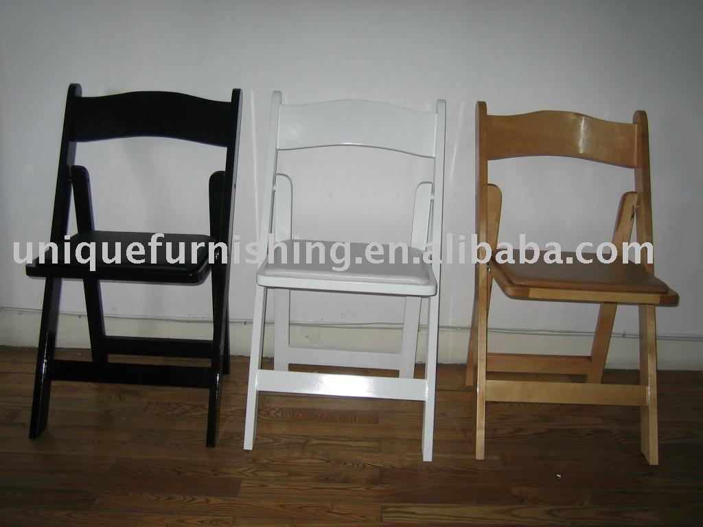 Madera de abedul silla plegable sillas plegables - Madera de abedul ...