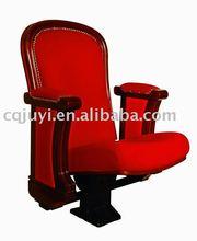 JUYI big size single leg high grade auditorium chairs