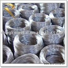 galvanisé à chaud de zinc enduit le fil de fer
