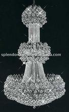 Elegant 2012 New Chrome Finish Crystal Lamp Hot Sale