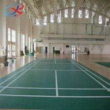 PVC indoor sports flooring for badminton