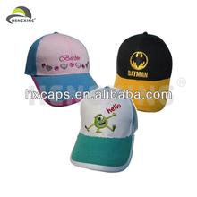 Custom 100% Cotton Hot Sale Children Cap