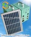 sistema de generador solar para el uso de iluminación