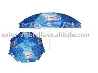 180cm steel frame beach umbrella L-b095