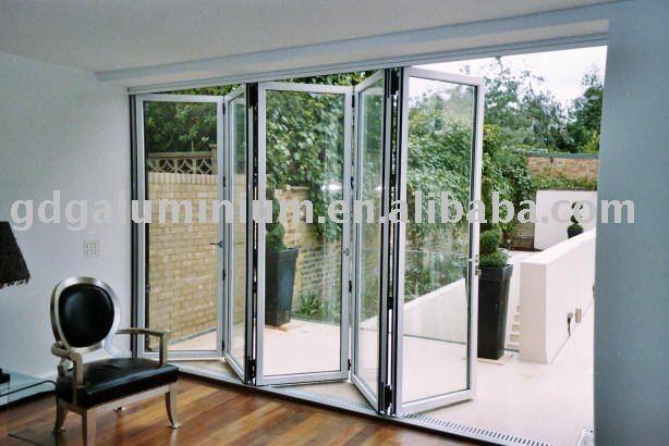 Puertas Plegables Aluminio Exterior Exterior Puerta Plegable