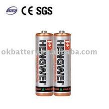 SHRINK PACK-EXTRA HEAVY DUTY BATTERY R6P PVC JACKET AA 1.5V 2/S