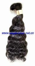 indian virgin,16 inch,natural wave,hair bulk/remy bulk hair