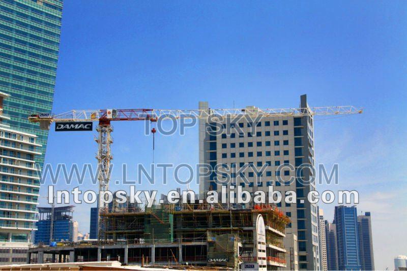 TT6016-8t Good Quality JOST Type Topless Tower Crane
