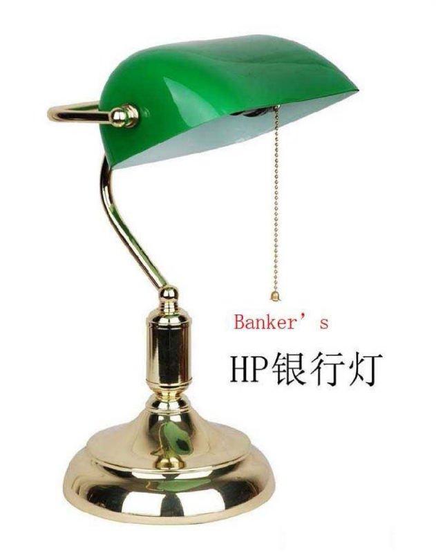 Lampe de bureau de banker lampe de table et de lecture id - Lampe de bureau banker ...