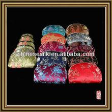 Brocade made handicraft mixed colour wholesale textile wallet