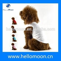 Plain Color Cheap Wholesale Blank Dog Tee Shirts