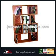wooden book shelf design
