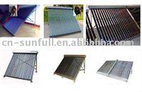 200L Pressurized solar collector