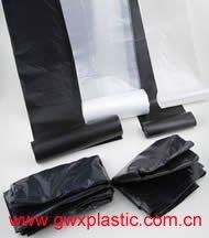 garbage bag on roll or in blocks