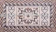 MU-SMC25 mosaic pattern decorative floor tile
